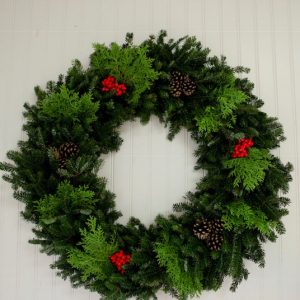 fraser mix wreath round