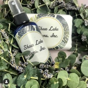 EUCALYPTUS SHOWER RING GIFT SET
